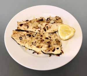 Baked almond trout: an easy nutrient-dense meal that's also delicious!