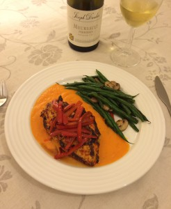 Paprika chicken: French flair and fine protein fare