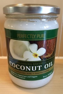 The versatile nut: coconut oil spreads well on toast - and dry skin