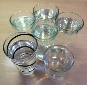 Two litres of water is around six glasses. Are you drinking your six a day?
