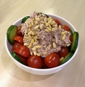 A Healthy Bowl? I can list the ingredients of my home made tuna and pine nut salad, but how many of us know what its nutrients are and how they affect the body?