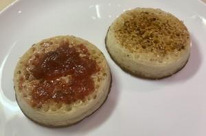 A bit of crumpet: a staple British bake for over a millennium
