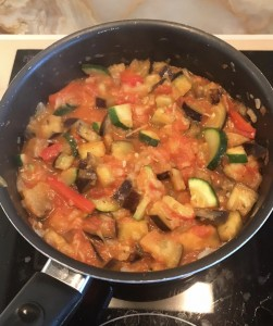 The good stuff: healthy and tasty ratatouille that food combiners can eat either as a neutral meal or add to proteins or carbohydrates