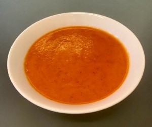 Red pepper soup: delicious, moreish and rich in vitamin C
