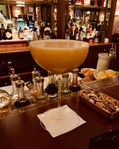 The lockdown Bellini: a little of what you fancy does you good. Just a little...